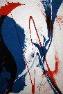 Paul JENKINS : Lithographie originale signée et numérotée : Seeing Voice Welsh Heart 2