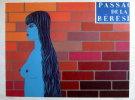 Felix LABISSE : Lithographie originale : Le passage de la Bérésina