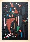 André Lanskoy : Lithographie originale : Composition 1