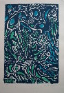 André Masson : Original Lithograph : Composition Bleue