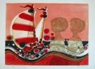 Frederic Menguy : Litografia originale : I Velieri