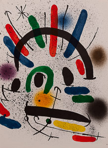 Lithographie Joan Miro - Original Lithograph II (1972)