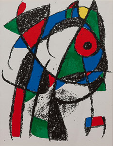 Joan Miro Original Lithograph - Original Lithograph I (1975)
