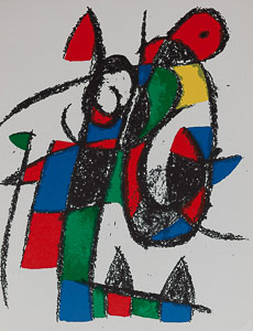 Lithographie Joan Miro - Original Lithograph II (1975)
