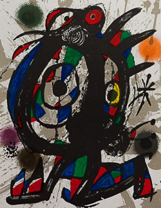 Joan Miro Original Lithograph - Original Lithograph I (1978)