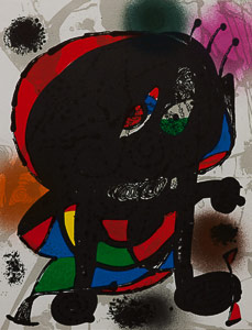 Lithographie Joan Miro - Original Lithograph III (1978)