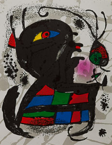 Joan Miro Original Lithograph - Original Lithograph V (1978)