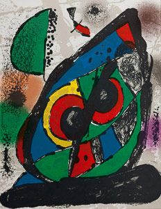 Joan Miro Original Lithograph - Original Lithograph I (1981)
