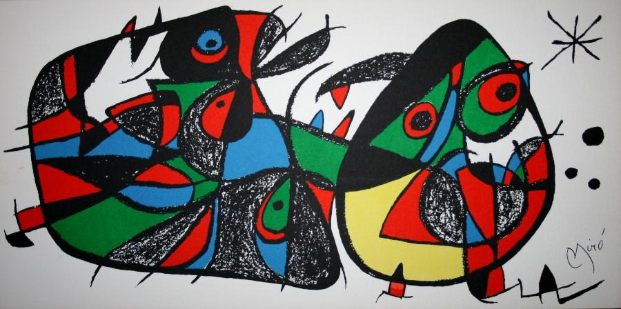 Joan MIRO : Original L... Joan Miro Fauvism