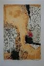 Bernard REMUSAT : Lithographie originale : Sigurd