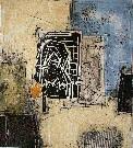 Bernard REMUSAT : Lithographie originale : Totem II