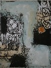 Bernard REMUSAT : Lithographie originale : Tuna I