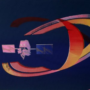Alain Valtat serigraphs signed and numbered - Space