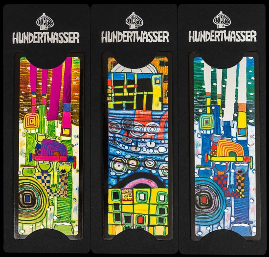 Marques pages Hundertwasser n°4