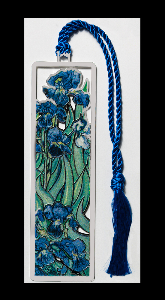 Van Gogh bookmark - Irises