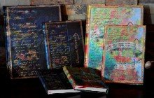 Paperblanks diaries and storage boxes