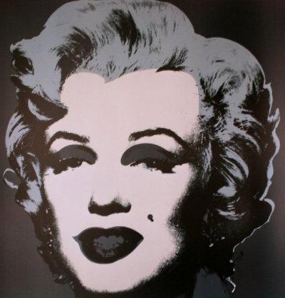 Andy WARHOL : Marilyn black