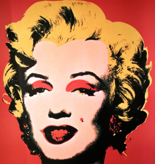 Andy WARHOL : Marilyn red