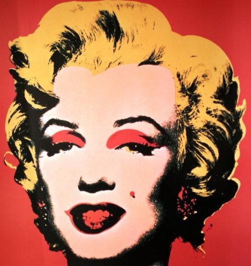 Andy WARHOL : Marilyn red