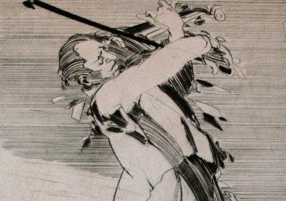 Claude WEISBUCH : Gravure originale