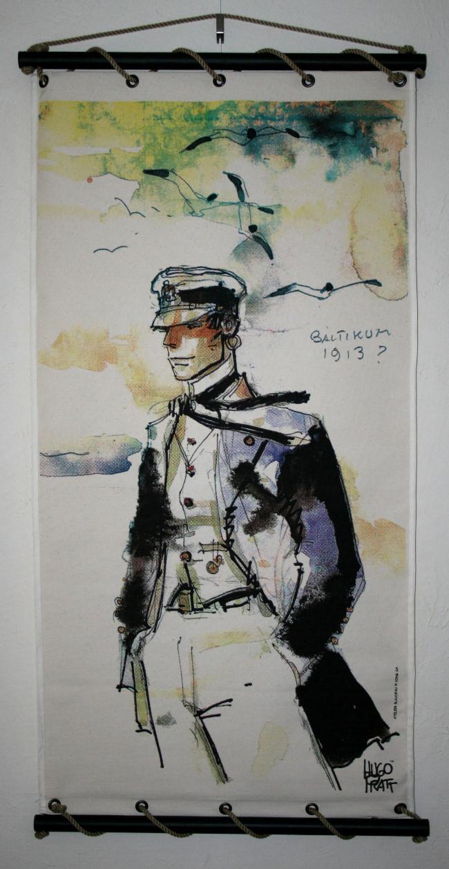 Hugo Pratt Corto Maltese Baltikum 1913 Decorative