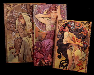 Carnets Paperblanks Alfons Mucha, (n°2)