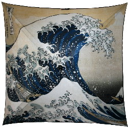 Hokusai umbrella : The Great Wave of Kanagawa