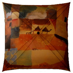 Paul Klee umbrella : Voyage en Tunisie