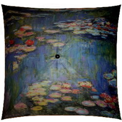 Claude Monet umbrella : Nympheas