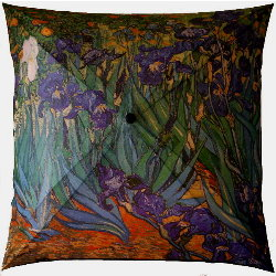 Van Gogh umbrella : Iris