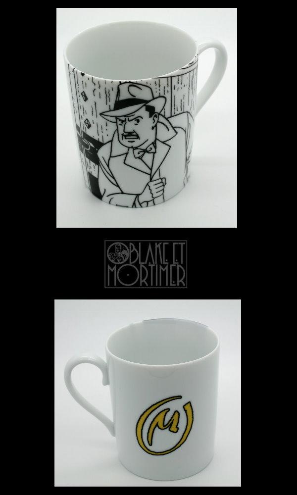 Mug Blake & Mortimer : Olrik