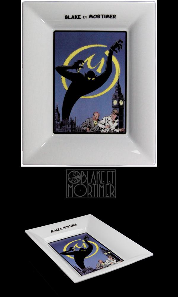 Vide-poche Blake & Mortimer : La Marque Jaune (couleur)