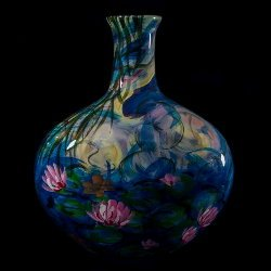 Vase en porcelaine Claude Monet : Nympheas