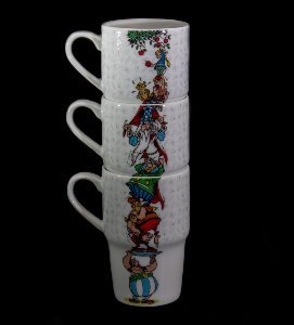 Asterix mugs : The appletree