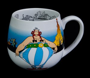 Asterix & Obélix mugs : I'm not fat !