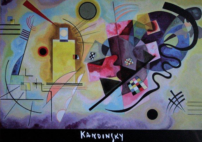 Connu Puzzle d'Art 1000 pièces KANDINSKY : Jaune Rouge Bleu, Editions Educa ET78