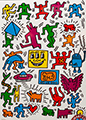 Puzzle Keith Haring : Collage, 1000p