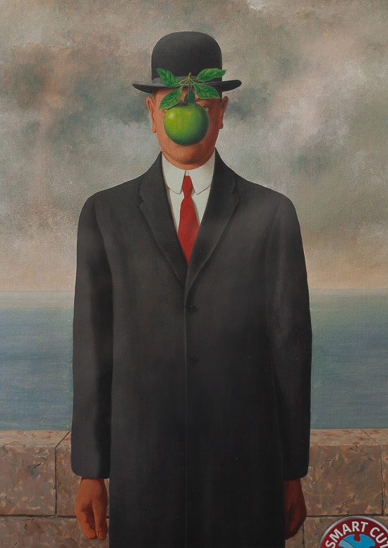 René Magritte Puzzle : The Son of Man