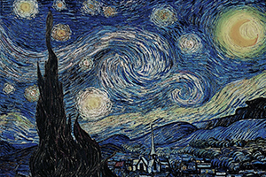 Puzzle Vincent Van Gogh : Starry Night