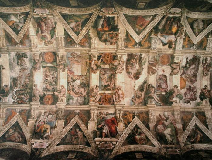 Puzzle D Art 1000 Pieces Michel Ange Le Plafond De La Chapelle Sixtine