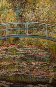 Claude Monet puzzle : The Japanese Bridge of Giverny