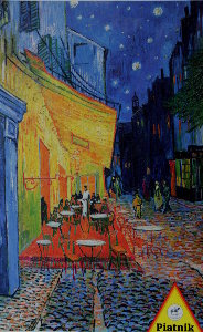 Vincent Van Gogh puzzle : Cafe Terrace at Night