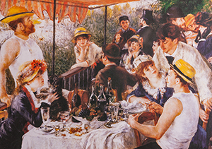 Renoir puzzle : The boaters