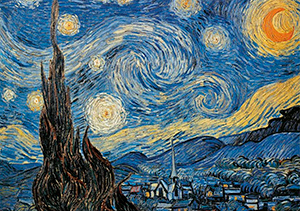 Vincent Van Gogh puzzle : Starry Night