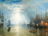 Puzzle en bois William Turner : Clair de lune, 1840, 250p (Michele Wilson)