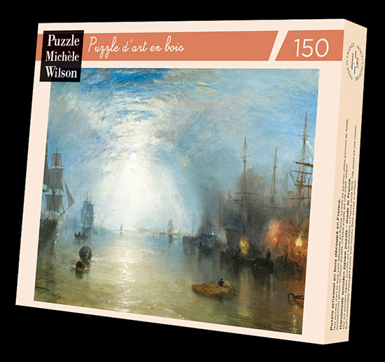 Puzzle en bois William Turner : Clair de lune, 1840 (Michele Wilson)