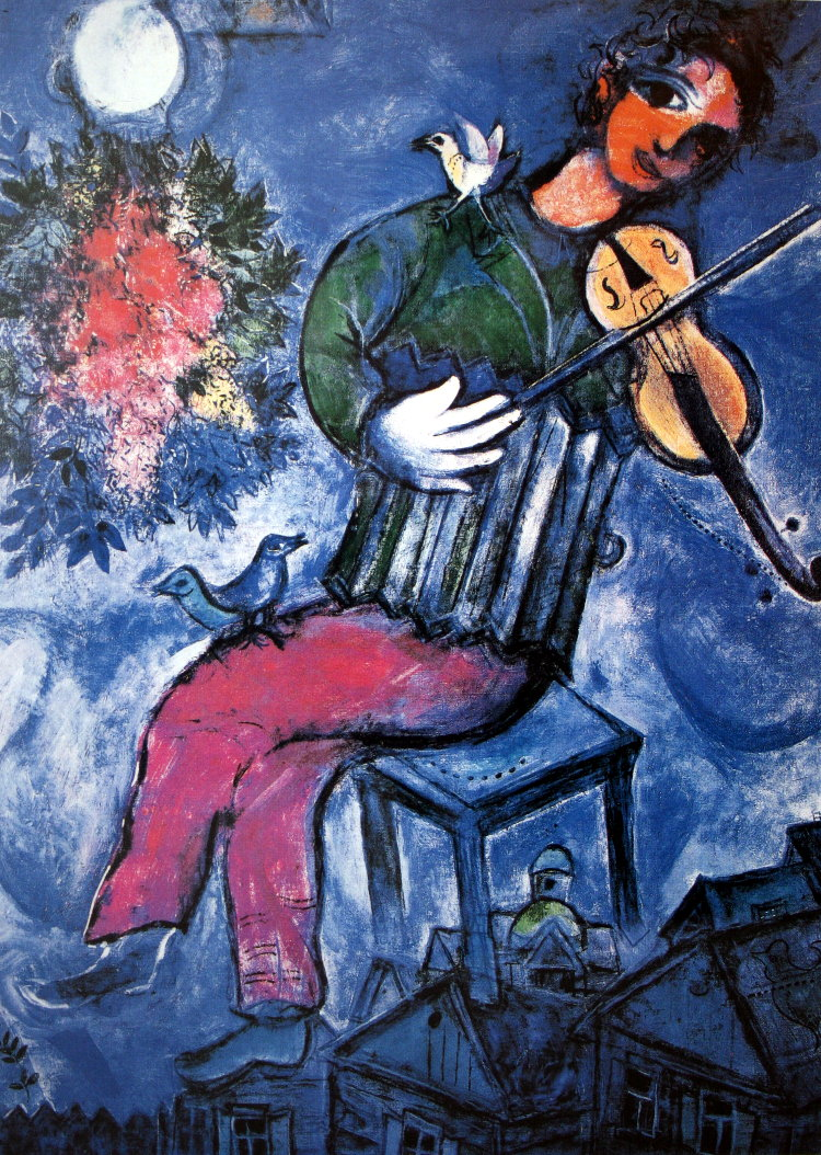 Marc Chagall Jigsaw Puzzles, Art Puzzles : 1000, 1500, 2000 pieces ...