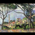 Paul Cézanne : Vue de l'Estaque, 1500p