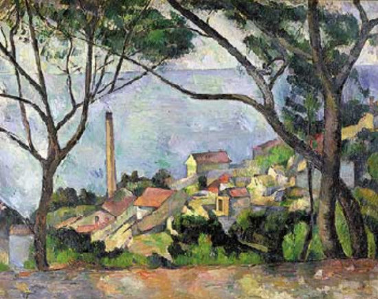 Paul Cézanne : Vue de l'Estaque