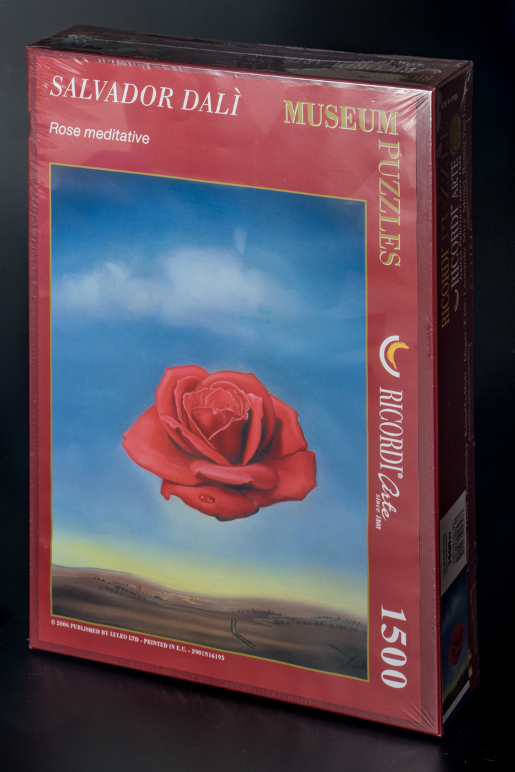 Salvador Dali The Meditative Rose Art Puzzle 1500 Pieces
